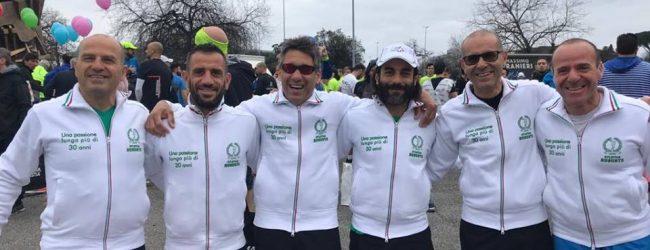Augusta  Positiva la trasferta dell'Asd Atletica alla Roma Ostia Half Marathon.