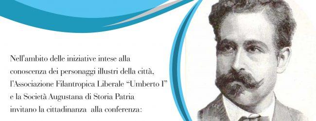 Augusta| Conferenza su Simone Cuccia, docente, avvocato, parlamentare del Regno.