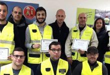 Lentini | Protezione civile, otto volontari superano corso di formazione di primo livello
