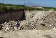 Augusta| Elicottero individua amianto e rifiuti speciali in uno scavo: 4 denunciati.