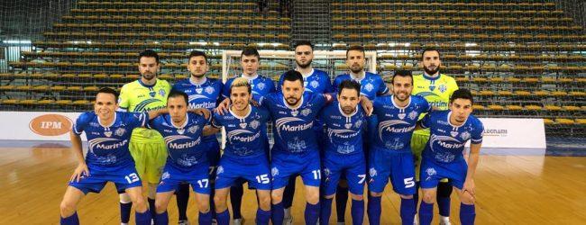 Augusta| Futsal serie A: Buona la prestazione del Maritime Augusta, ma passa il Pesaro (5-2)