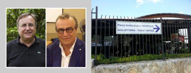 Siracusa  La biglietteria del Parco Archeologico resti a Casina Cuti