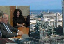 Siracusa  Riunione in Prefettura sul polo petrolchimico.o