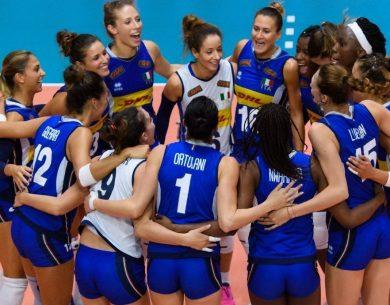 Catania| Italvolley femminile torna a giocare in Sicilia dopo quattro anni