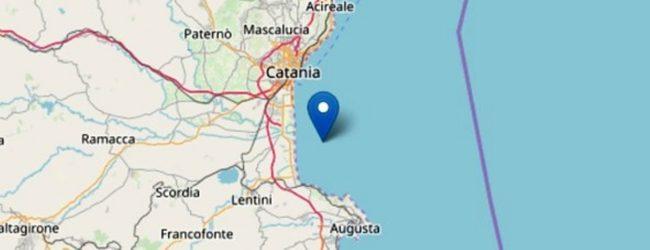 Catania | Terremoto questa sera al largo della costa tra Catania e Siracusa