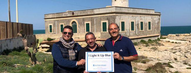 Augusta| Faro Santa Croce si colorerà di blu per la Giornata dell'autismo.