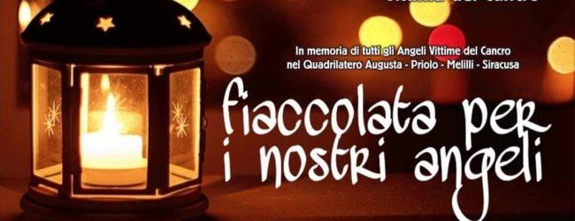 Augusta  Fiaccolata per tutti gli angeli vittime del cancro da piazza Fontana