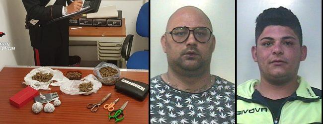 Noto| Detenevano droga in casa: due persone arrestate dai carabinieri