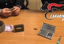 Rosolini  Panetto di hashish sul posto di lavoro: arrestato dai carabinieri.
