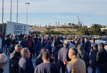 Augusta| Bloccate le portinerie della Sasol dagli operai della Tecnomec.
