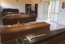 Augusta| Dieci salme oggi nella camera mortuaria.