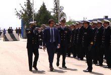 Augusta| Il ministro Toninelli oggi in città accolto in Capitaneria di porto.<span class='video_title_tag'> -Video</span>