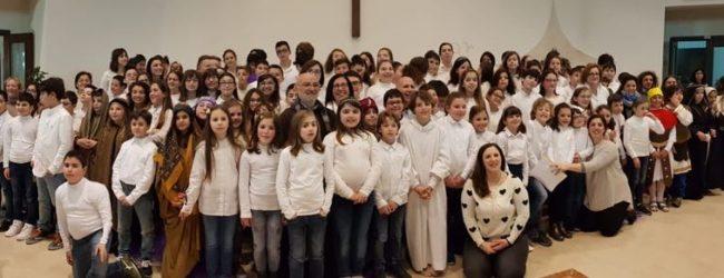 Augusta| Cristo Re: Via Crucis impersonata dai bambini del catechismo.