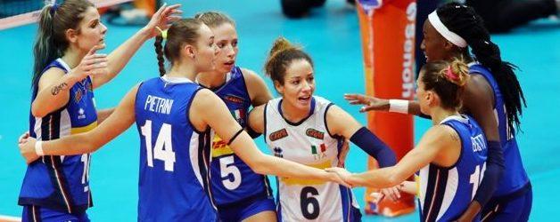 Catania| Italvolley femminile. Olimpiadi: Catania ospita un girone di qualificazione ai Giochi Olimpici