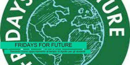 Siracusa  Ambiente climatico globale: Studenti al Tempio di Apollo per il FridaysForFuture