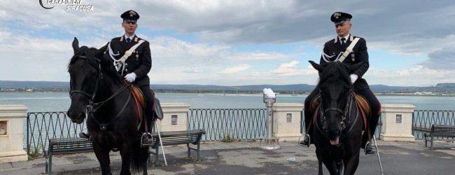Siracusa  Sicurezza cittadina: Carabinieri a cavallo al Teatro Greco e Ortigia