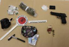 Augusta| Giovane arrestato per spaccio di droga e detenzione di munizioni e arma.