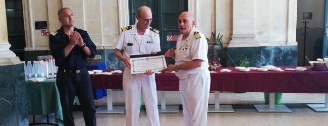 Siracusa| Capitaneria di porto: il comandante Armenia va in congedo