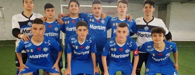Augusta  Final eight Under 17. Il Maritime Augusta si aggiudica il primo turno 7 a 1 contro il Segato Reggio Calabria