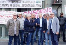Lentini | Consorzio di bonifica, in sciopero i dipendenti senza stipendio da cinque mesi: «Vogliamo risposte»