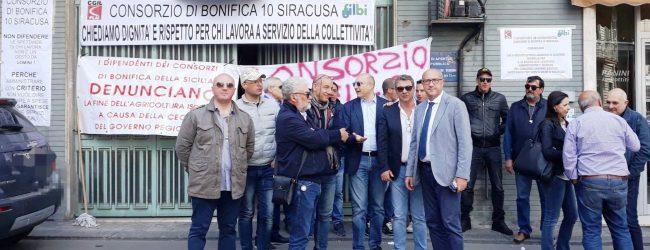 Lentini   Consorzio di bonifica, in sciopero i dipendenti senza stipendio da cinque mesi: «Vogliamo risposte»