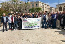 Siracusa| Sit in a Largo XXV Luglio: Diritto di cronaca e vicinanza al giornalista Gaetano Scariolo