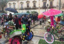 Augusta| La festa della bici in fiore trionfa sul maltempo