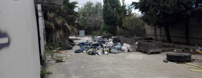 Augusta  Capannone industriale sequestrato per conferimento abusivo di rifiuti.