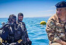 Catania| Ordigno bellico neutralizzato dai palombari della Marina militare.
