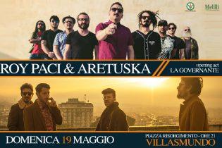 Melilli| Roy Paci e Aretuska il 19 maggio in piazza Risorgimento a Villasmundo (SR)