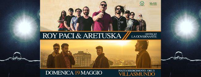 Melilli  Roy Paci e Aretuska il 19 maggio in piazza Risorgimento a Villasmundo (SR)