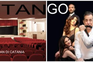 "Catania  Teatro Metropolitan: Al debutto""tango"" con Manlio Dovì"