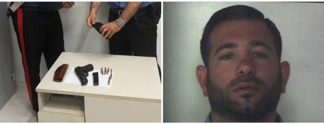 Siracusa| Sequestrata pistola con matricola abrasa a casa di un commerciante siracusano