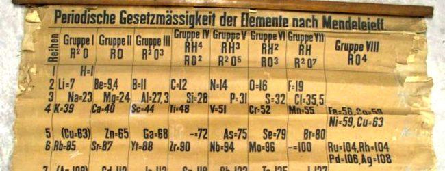 Francofonte | La tavola periodica ha 150 anni, lunedì conferenza al liceo scientifico