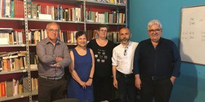 Siracusa| Libreria associazione Dante Aligheri: Miduri dona testi sul giornalismo