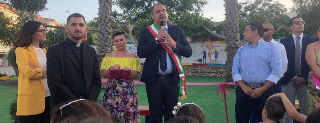 Ragusa  Inaugurato il parco di Matilde di Ispica
