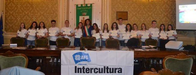Augusta  A scuola nel Mondo con Intercultura: premiati i vincitori del bando.