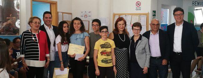 Augusta| Scuola Corbino: premiati gli alunni vincitori del concorso Laface.