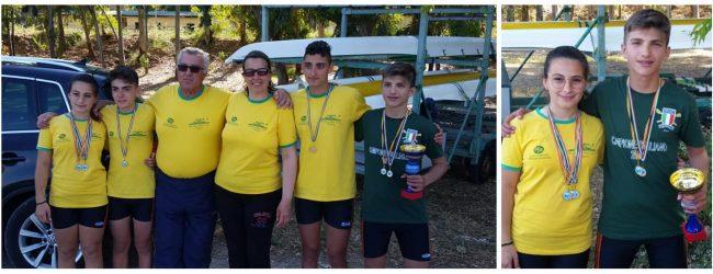 Augusta  Gabriele Maci: Campione siciliano Allievi della Canottieri Club Nuoto