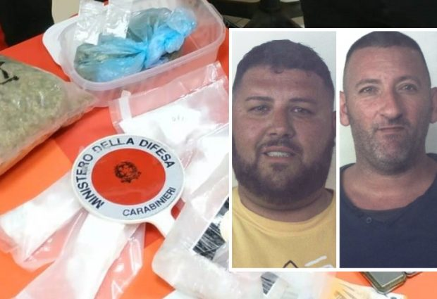 Siracusa| Donna incinta trasportava cocaina e marijuana: 3 arresti dei carabinieri