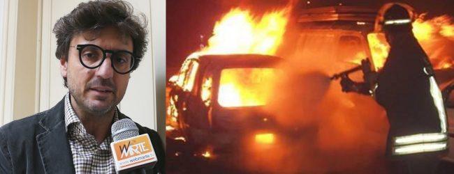 Siracusa  Bruciata l'auto della moglie dell'avvocato Francesco Favi
