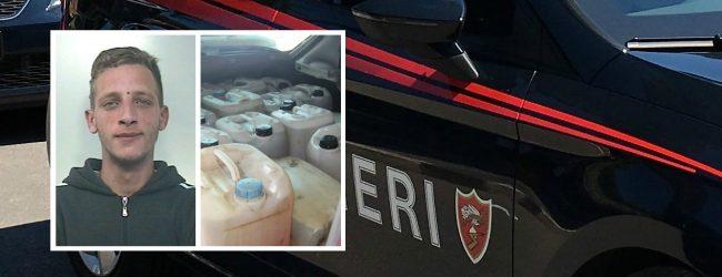 Noto| Sorpresi a rubare carburante, arrestati dai carabinieri