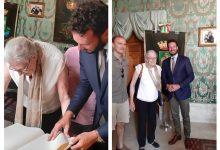 Siracusa| Il sindaco Italia riceve alla sala verde Vanessa Redgrave
