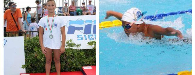 Augusta  Nuoto: Medaglia d'argento per Emanuele Midolo dell'Asd Athon