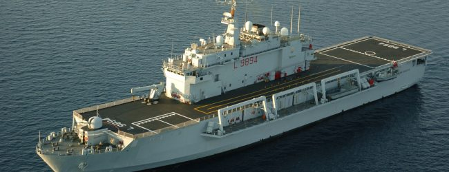 Augusta| Nave San Giusto della Marina in sosta al porto e oggi aperta alle visite.