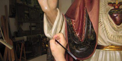 Augusta| Restaurato il simulacro del Sacro Cuore di Gesù: oggi la presentazione.