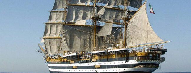 Catania| Dopo nove anni, ritorna al porto di Catania la nave scuola Vespucci