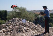 Canicattini Bagni| Smaltimento illecito di materiale edile: Denunciate due persone dai carabinieri