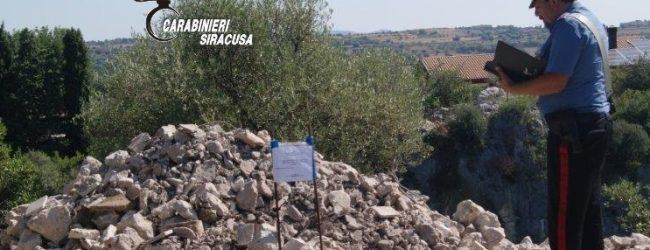 Canicattini Bagni  Smaltimento illecito di materiale edile: Denunciate due persone dai carabinieri