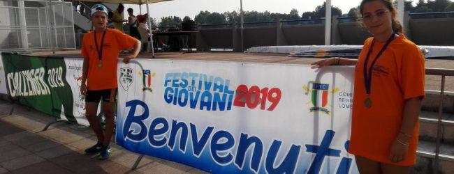 Augusta  XXX° Festival dei Giovani: Due medaglie di bronzo per la Canottieri Club Nuoto